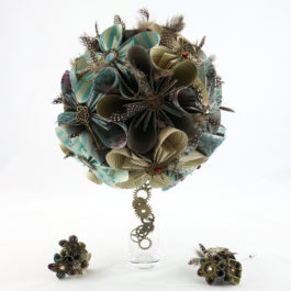Bouquet steampunk et accessoires