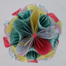 Bouquet de fleurs original