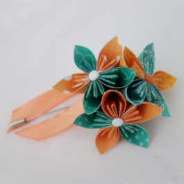 Boutonnière mariage fleur