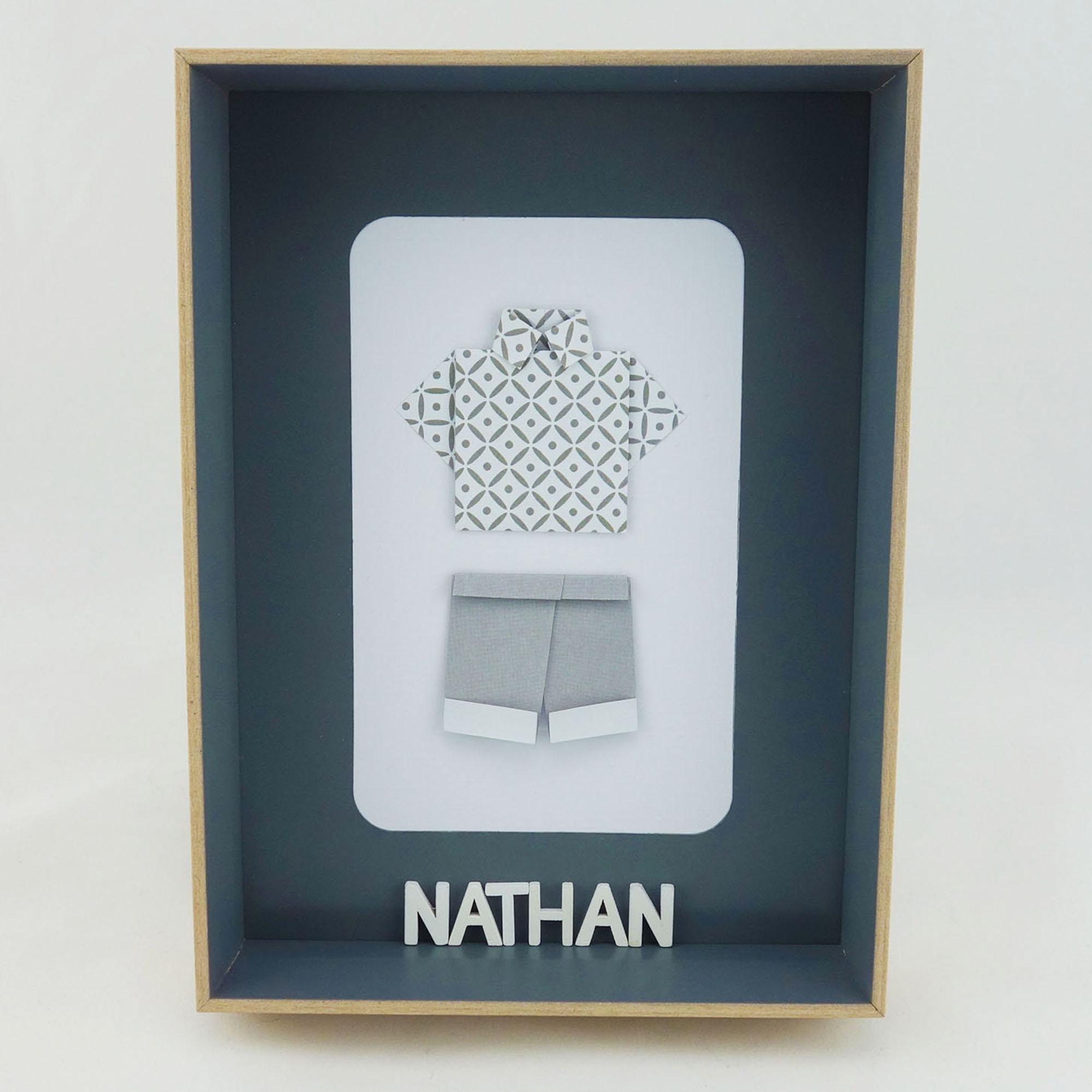 cadeau naissance gar on personnalis soligami bouquets. Black Bedroom Furniture Sets. Home Design Ideas