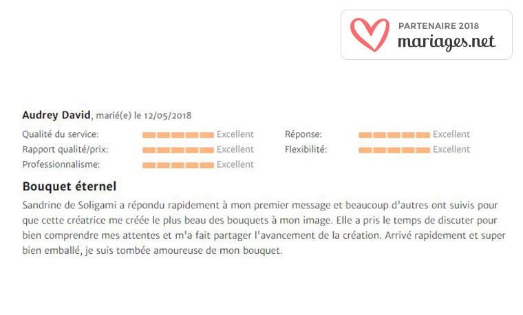 Avis mariage.net SOLIGAMI®
