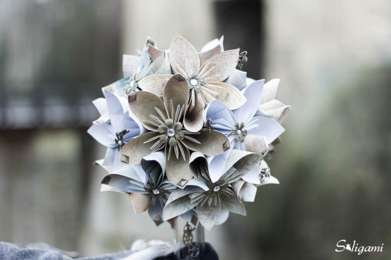 Bouquet mariage origami Game Of Thrones