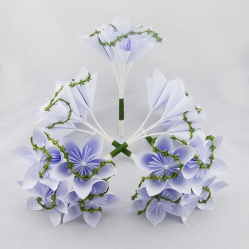 bouquets de demoiselle d'honneur