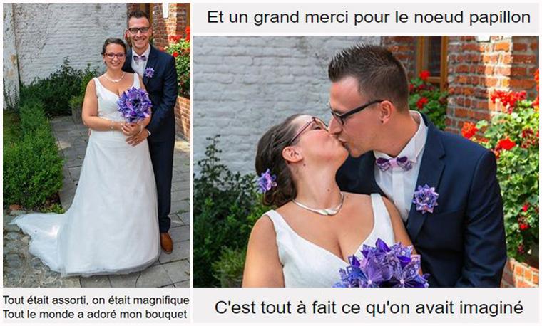 bouquet champetre mariage
