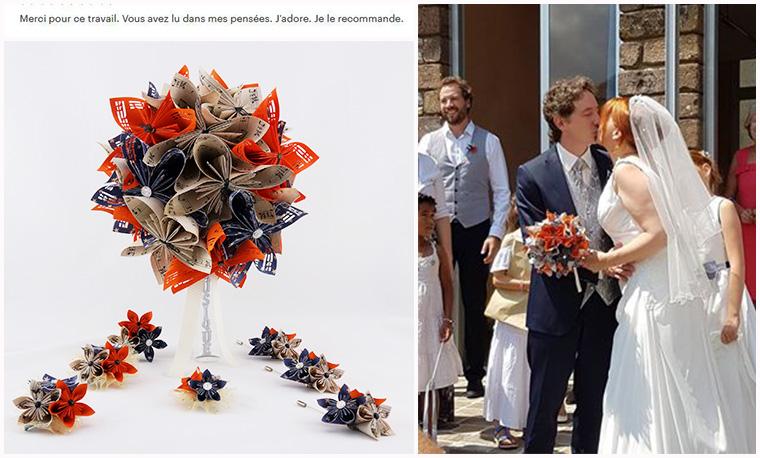 bouquet mariee original