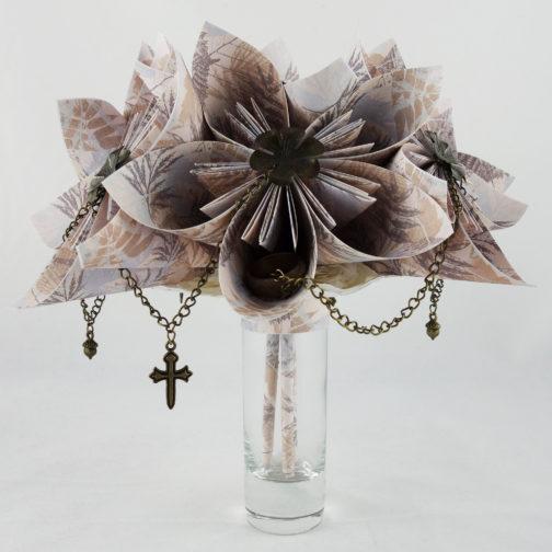 bouquet origami seigneur des anneaux