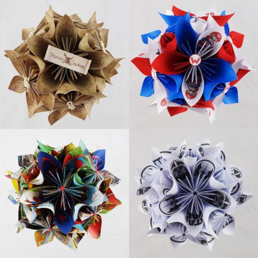 centre de table geek en origami soligami