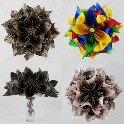 bouquets origami soligami
