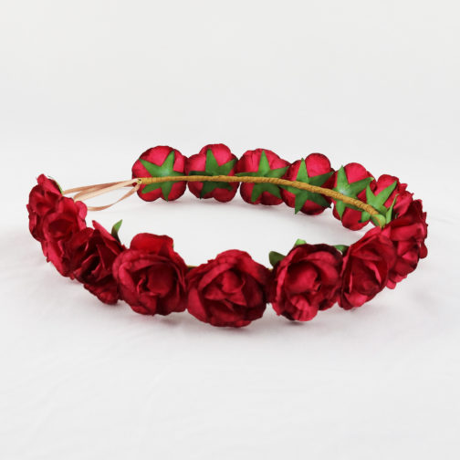 couronne mariage rouge
