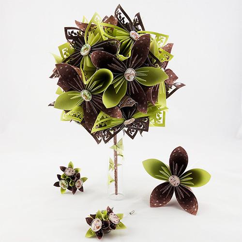 bouquet champêtre mariée