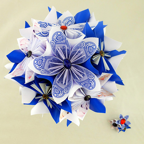 bouquet fleur geek