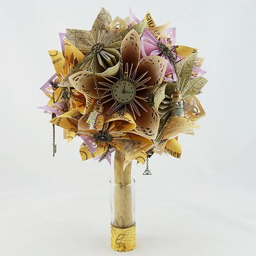 bouquet fleur harry potter