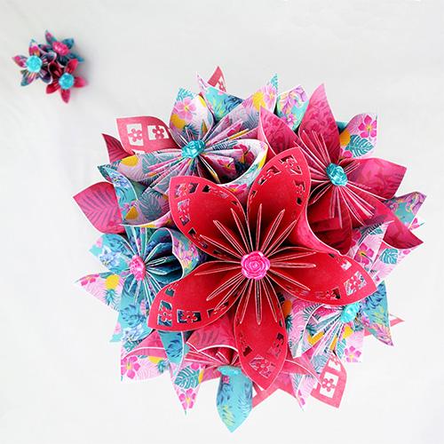 bouquet mariage exotique