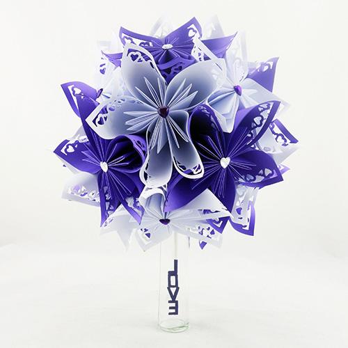 bouquet mariage violet