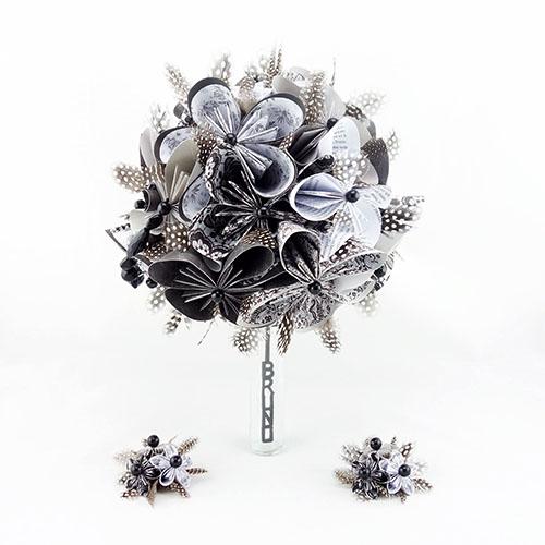 bouquet mariée baroque