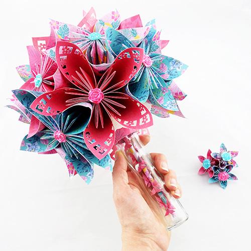 bouquet mariée exotique