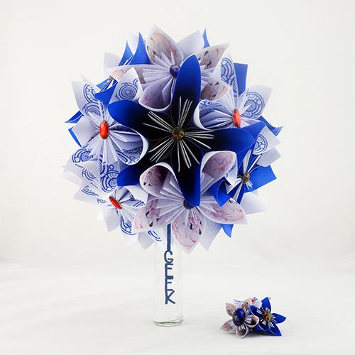 bouquet mariée geek