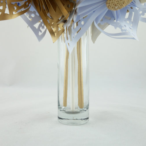 bouquet mariee original origami