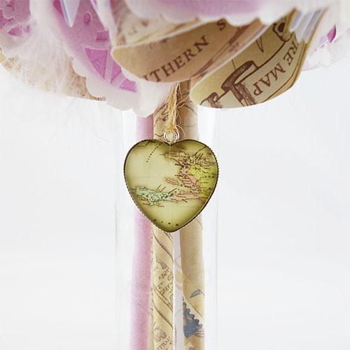 bouquet mariée voyage