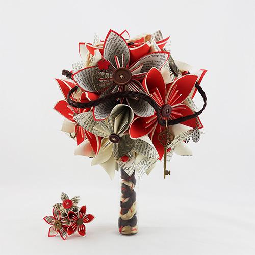 bouquet original mariée