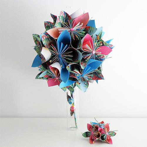 bouquet tropical mariage