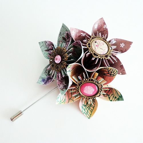 boutonniere marie shabby chic