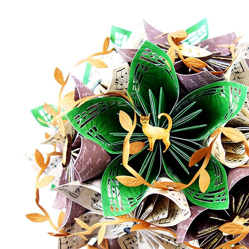 origami bouquet