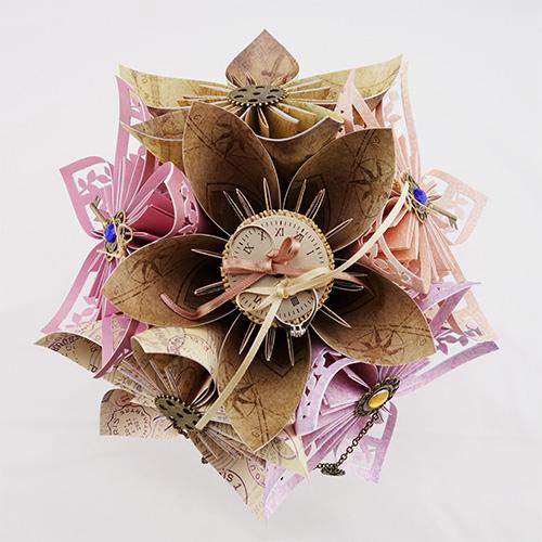 porte alliances origami