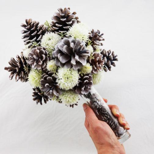 bouquet mariée hivernal