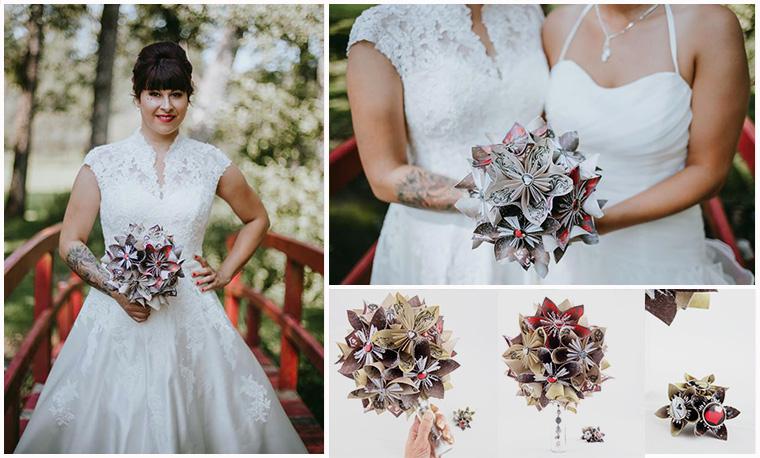 bouquet mariée hiver