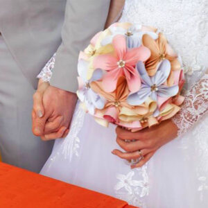 Mariage civil : Bouquet ou pas ?