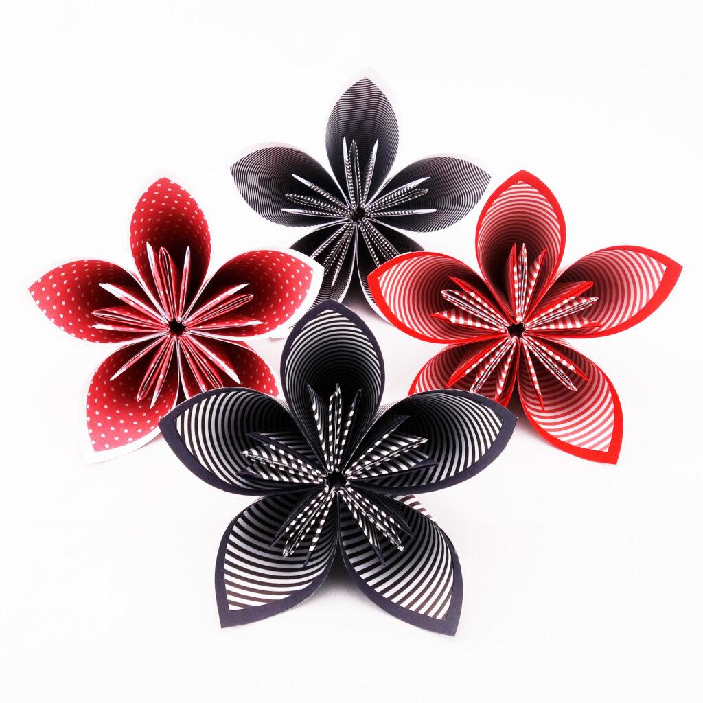 bouquet de mariée personnalisé en origami