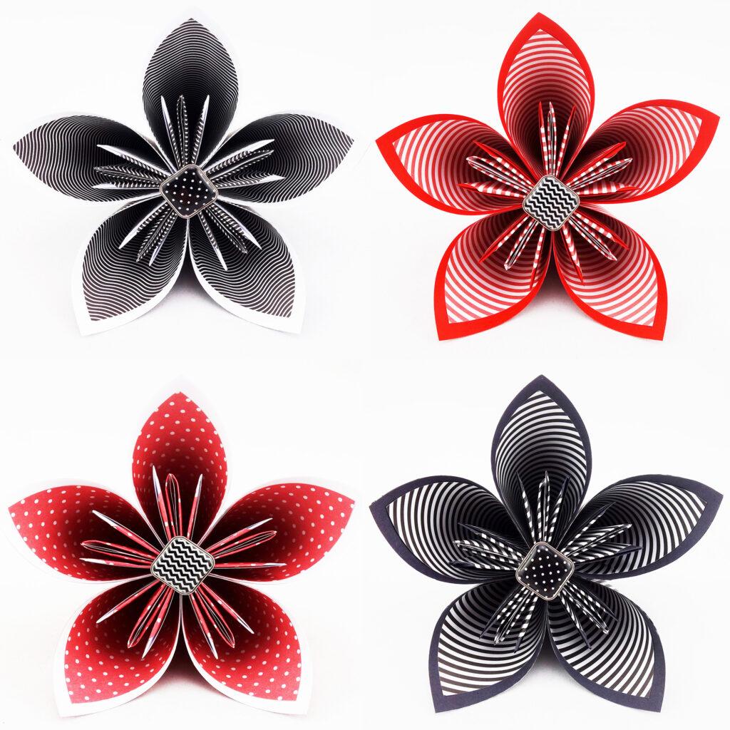 bouquet mariee papier origami personnalise