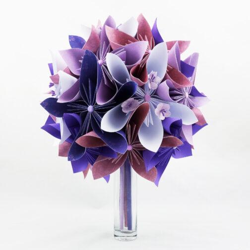 bouquet-mariee-personnalise-papier-origami-violet-soligami-3