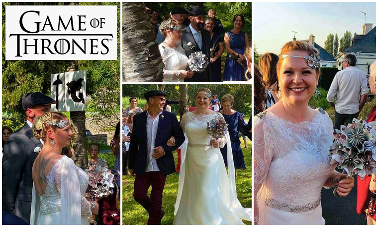 game of thrones wedding ideas with solgami