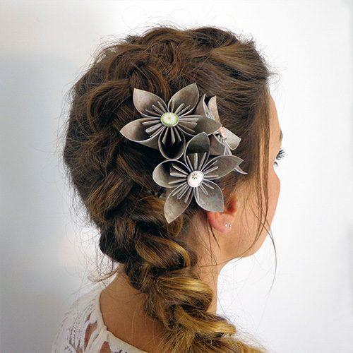 accessoire cheveux mariage champetre
