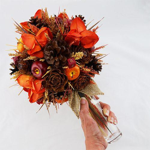 bouquet champetre artificiel