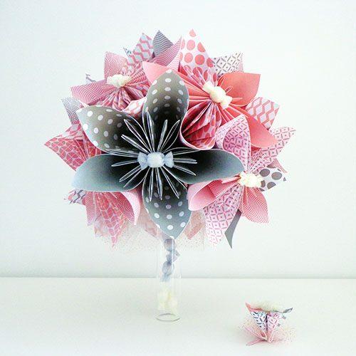 bouquet demoiselle d'honneur artificiel