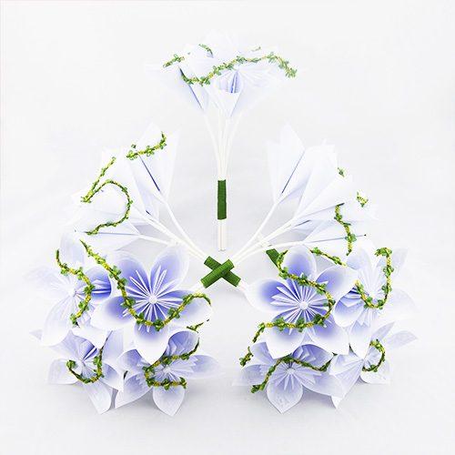 bouquet demoiselle d'honneur blanc