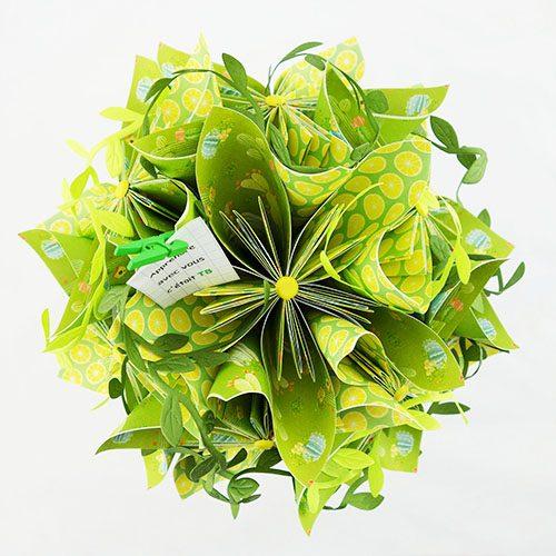 bouquet exotique artificiel