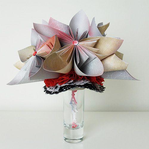 bouquet fleur personnalisé