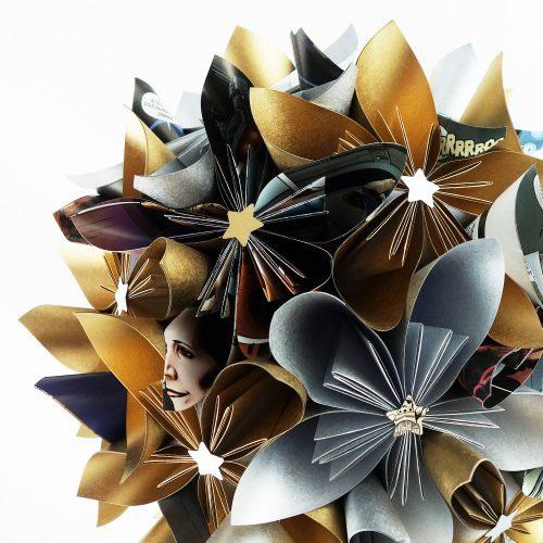 bouquet fleurs star wars