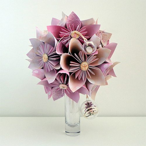 bouquet mariage rose