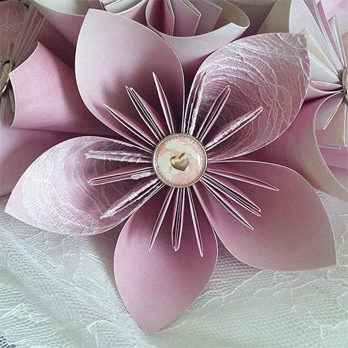 bouquet mariage rose poudre