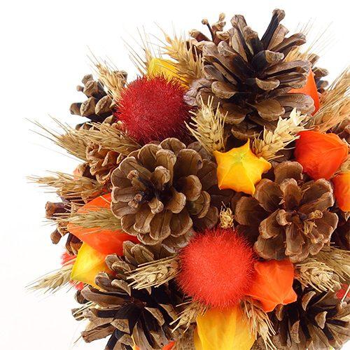 bouquet mariee automne hiver champetre