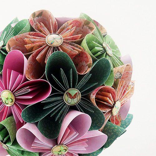 bouquet mariée bohème