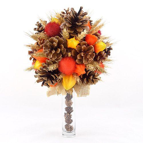 bouquet mariee champetre automne hiver