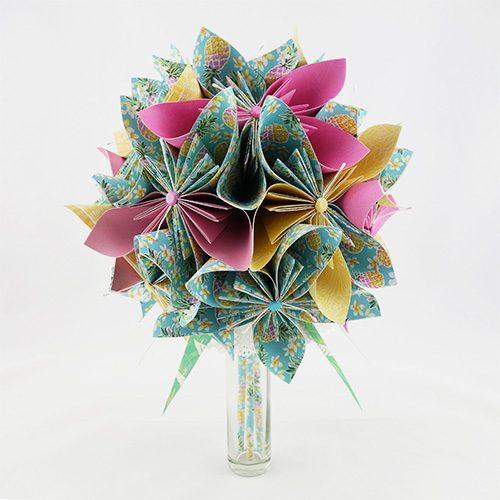 bouquet mariee exotique