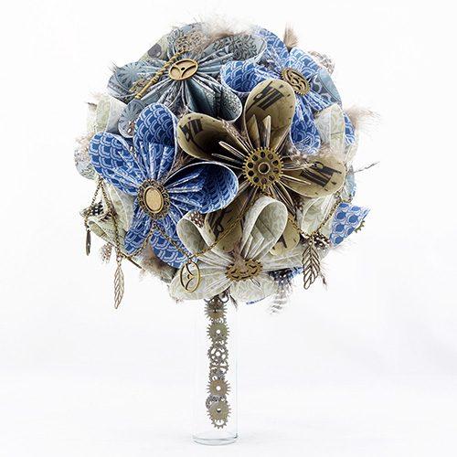 bouquet mariée steampunk
