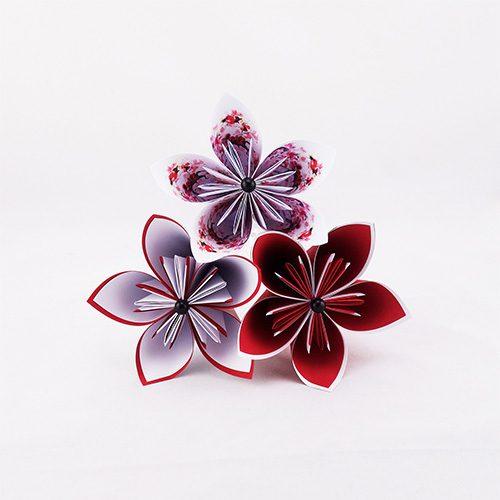 bouquet origami lancer